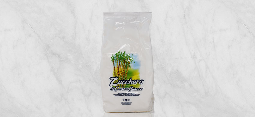 Liter zucchero bianco di canna